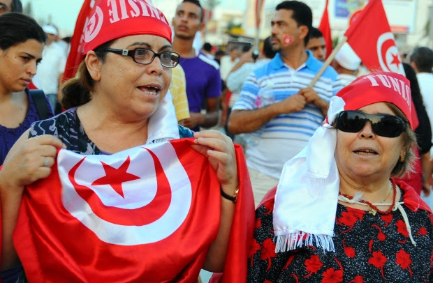 Tunisia protest