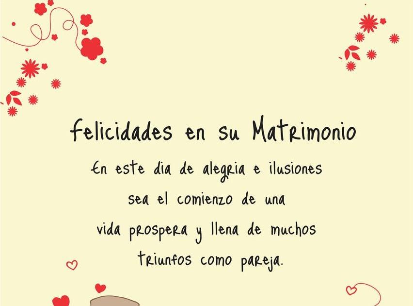 Carta De Felicitacion De Boda En Ingles - Quotes Best f