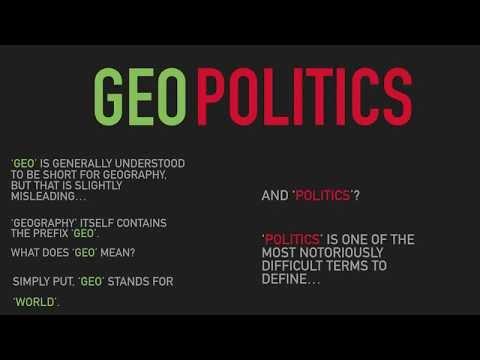 GEOPOLITICS - A Brief Introduction