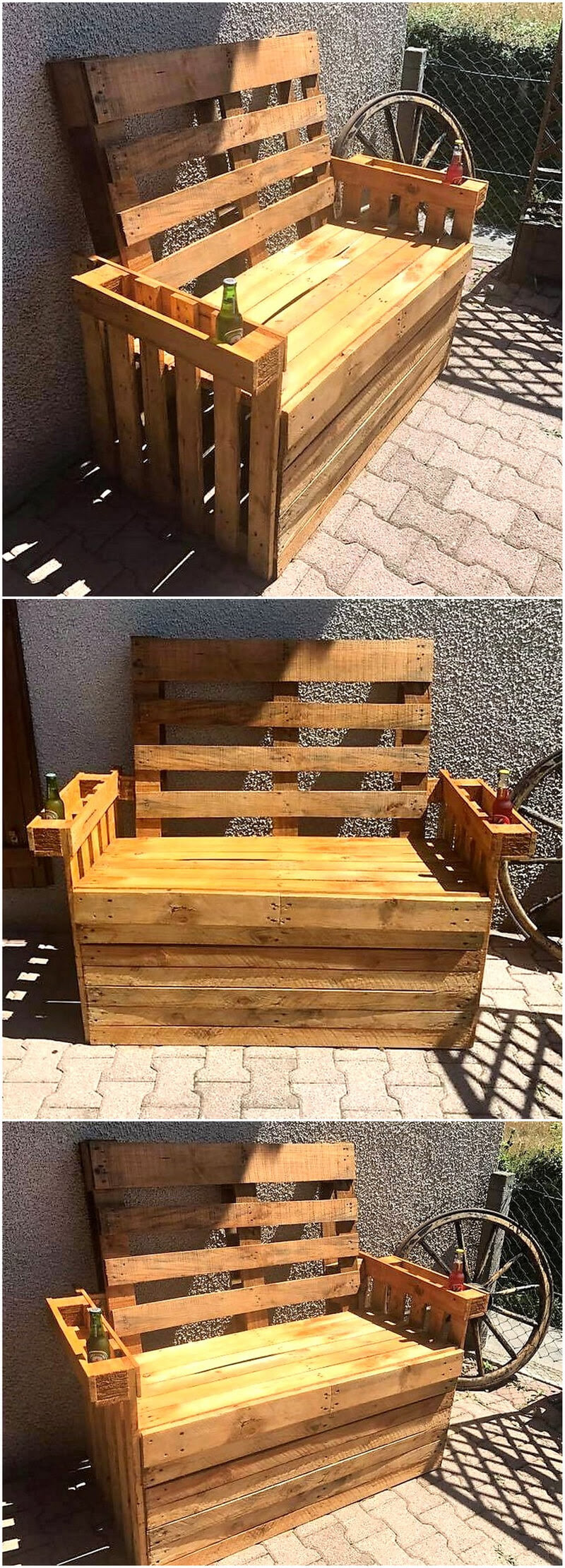25 Ways to Upcycle Your Old Used Wood Pallets | Wood ...