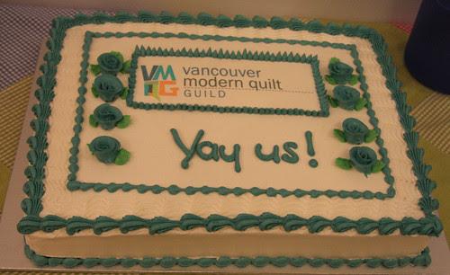 VMQG birthday cake
