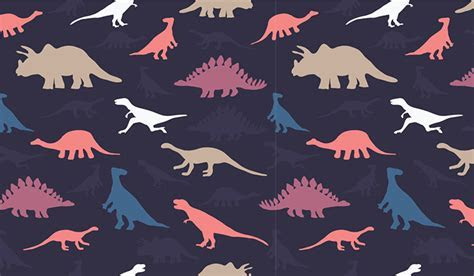Dinosaur Pattern Wall Mural   Patterned Wallpapers Custom