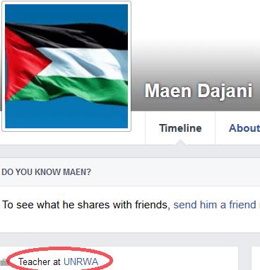 Maen Dajani - lien UNRWA