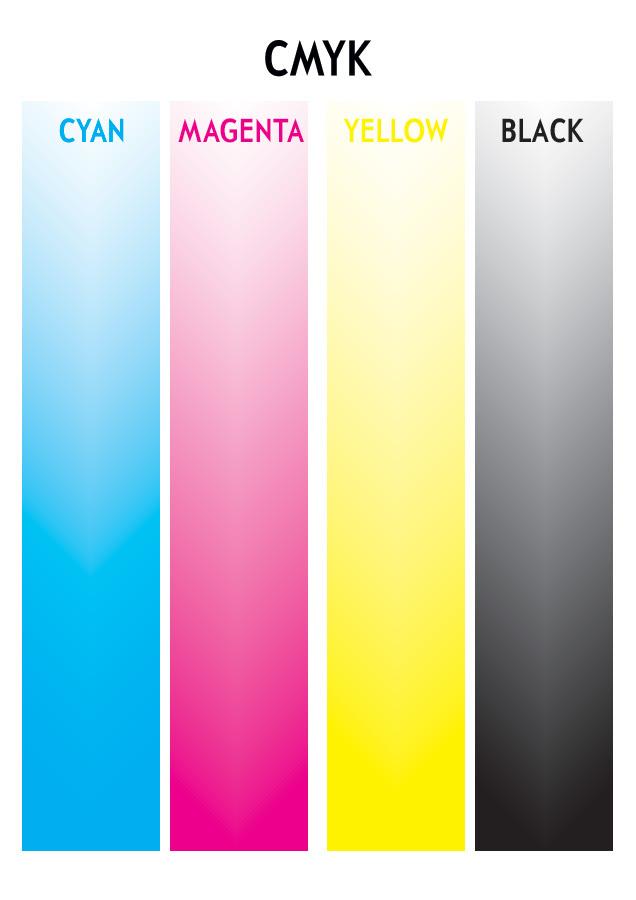 Example of CMYK Colour by Von Allan