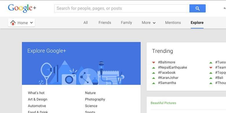 Mengapa Google Plus Tidak Diminati? - Hafid Armi