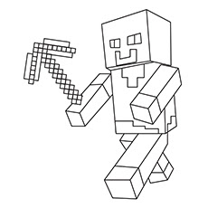 minecraft villager coloring pages at getdrawings  free download