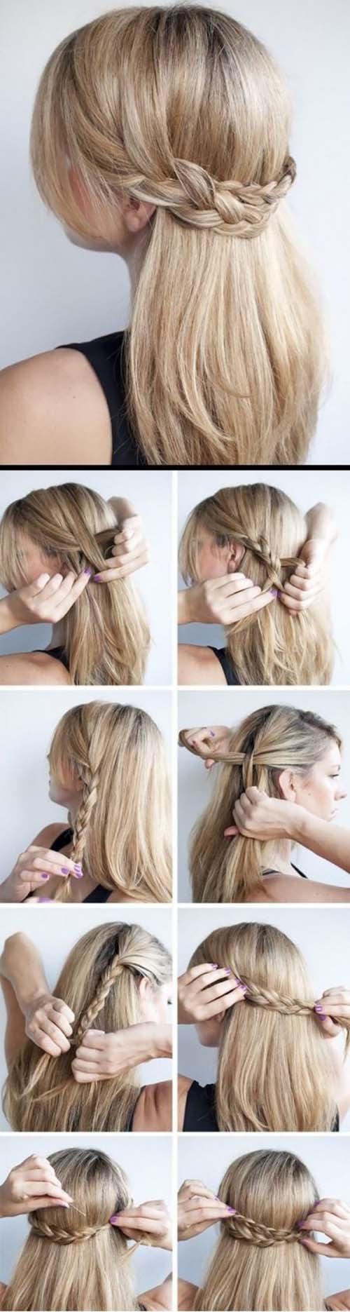 Un Peinado Sencillo Y Bonito Las Mejores Imágenes De Alta Definición De Inspiración De Estilo Hair
