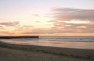 East Sands beach, St Andrews, viewed from the ...
