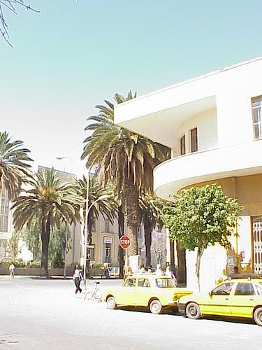 Apartments and Wikianos Supermarket, Asmara