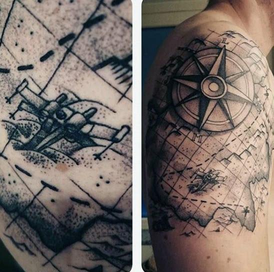 Map Tattoos Kitchen 2018