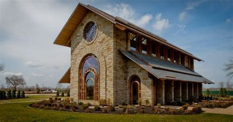 J.B. Hunt Memorial Chapel located in Rogers, AR. One of