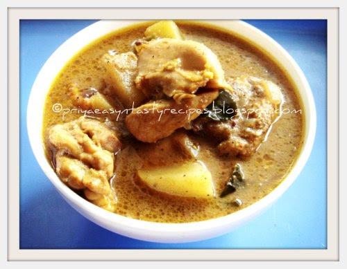Chicken Pepper Kuzhambu