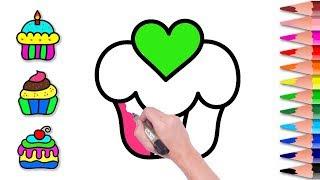 All Clip Of Belajar Menggambar Kue Dan Mewarnai Untuk Anak Bhclipcom