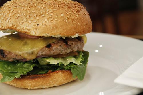 Crispy Bacon & Cheese Burger