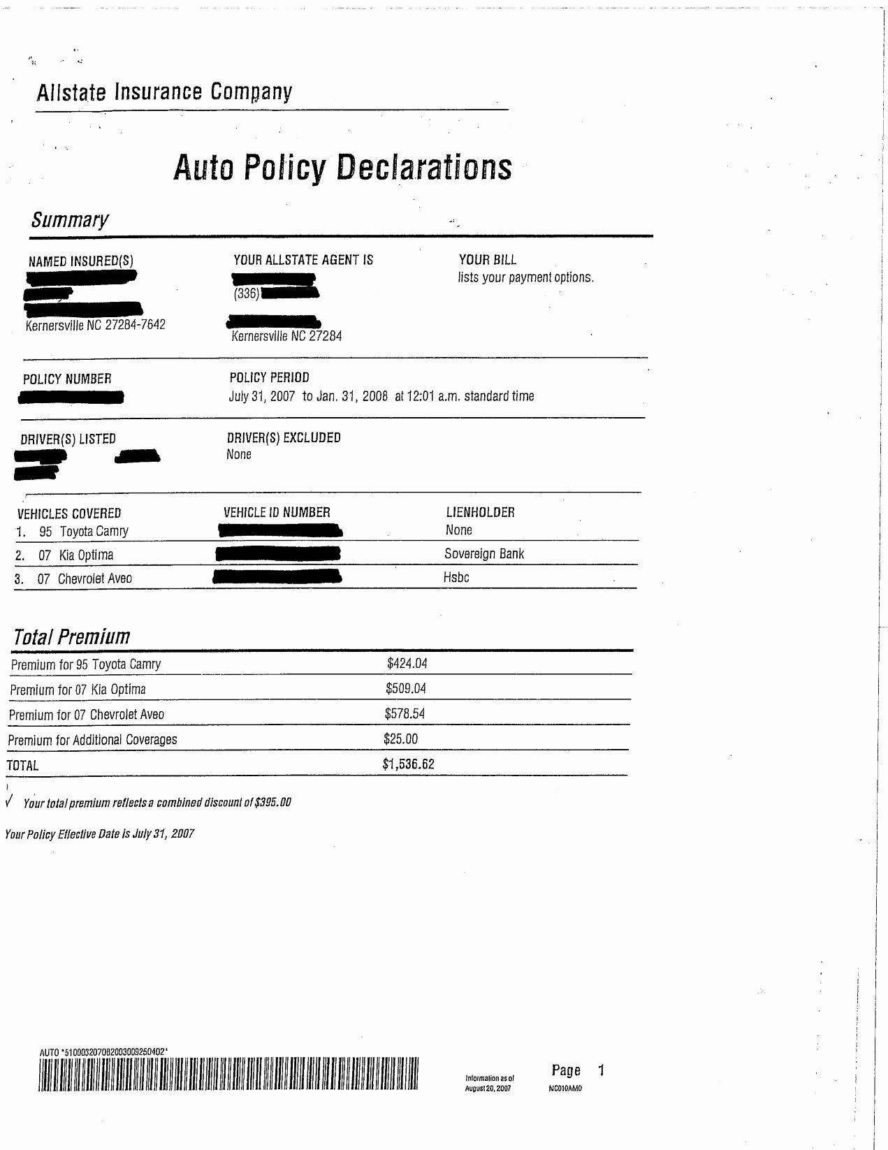 Usaa Print Auto Insurance Card - petermcfarland.us