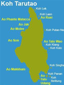 Resultado de imagen de koh tarutao map