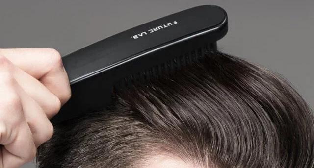 【台灣 Future Lab NION 負離子燙髮梳】輕掃即可塑造髮型 消費券網購