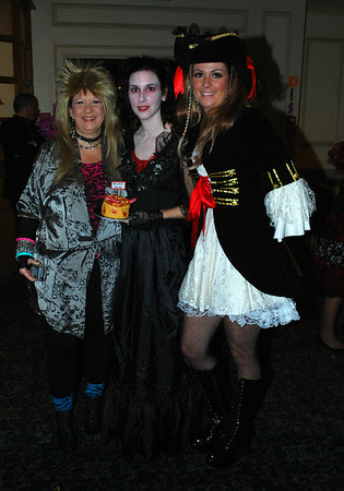 Mrs. Scissorshands, Mrs. Lovett, and Captain Jack's latest!