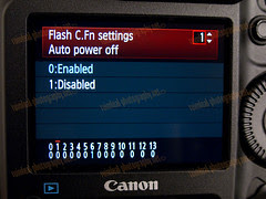 1D MarkIV Flash C.Fn Settings Menu