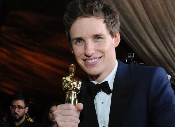 Oscar winner, Eddie Redmayne, Harry Potter