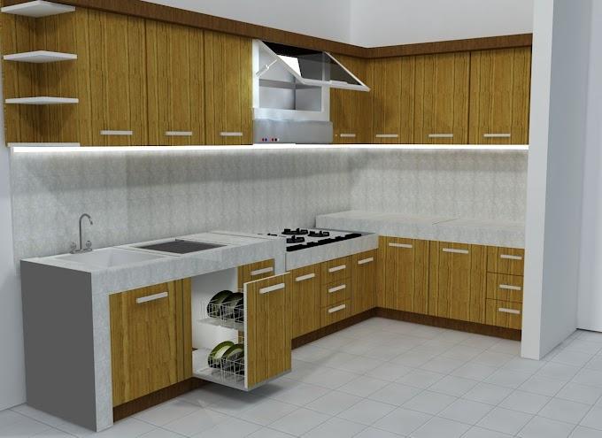 Harga Lemari Kitchen Set Dapur   Ide Rumah Minimalis