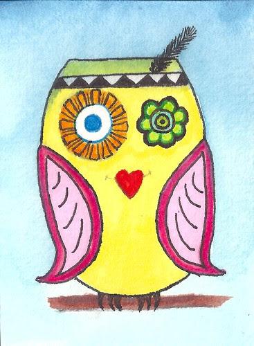 ATC Owls 1 by Blissful Pumpkin