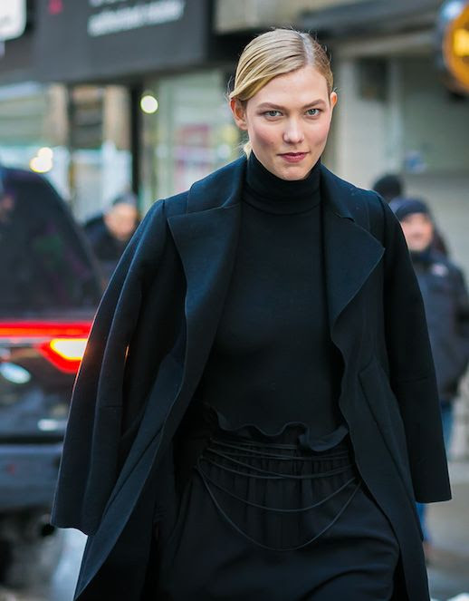 Le Fashion Blog Karlie Kloss 15 Black Coats For The Winter Shopping Via Style Du Monde
