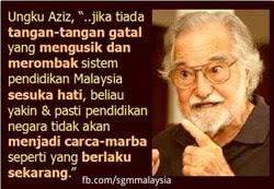 Pendidikan Ungku Aziz
