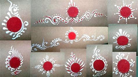 BENGALI BRIDAL CHANDAN ART  BRIDAL BINDI DESIGN   bridal