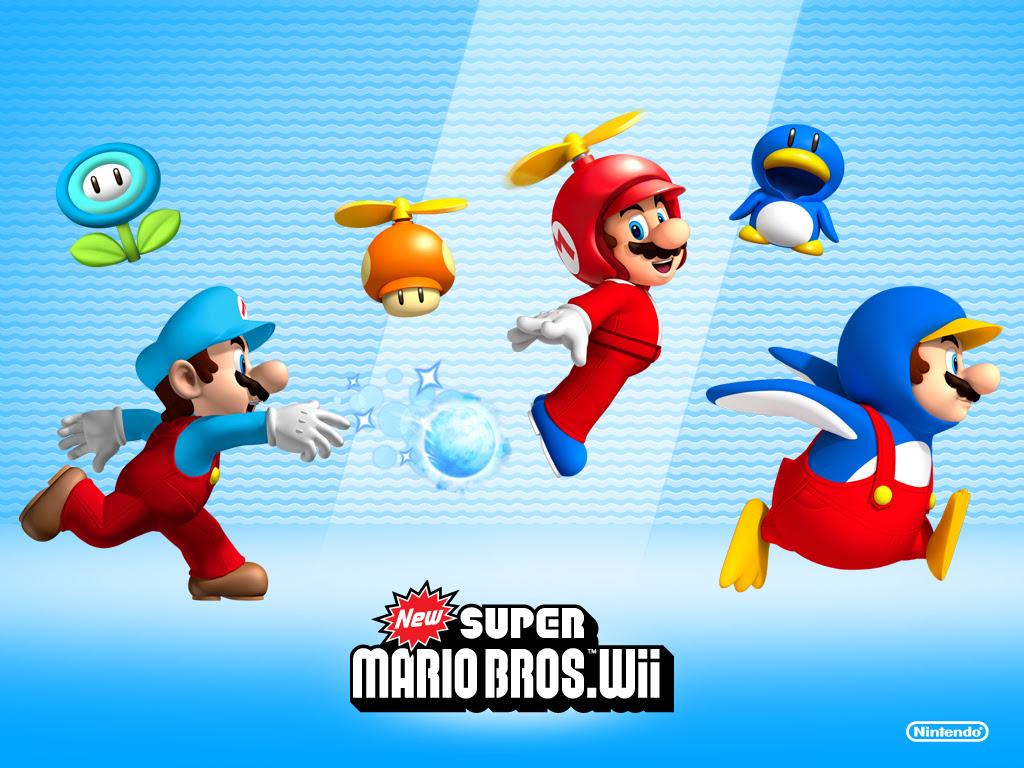 New Super Mario Bros Wii Nintendo Wallpaper 9133490 Fanpop