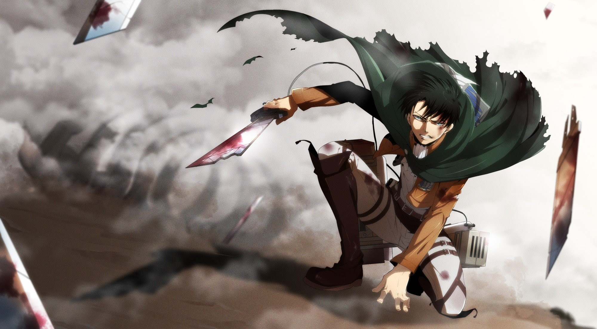 19 Wallpaper Desktop Anime Attack On Titan Anime Top Wallpaper