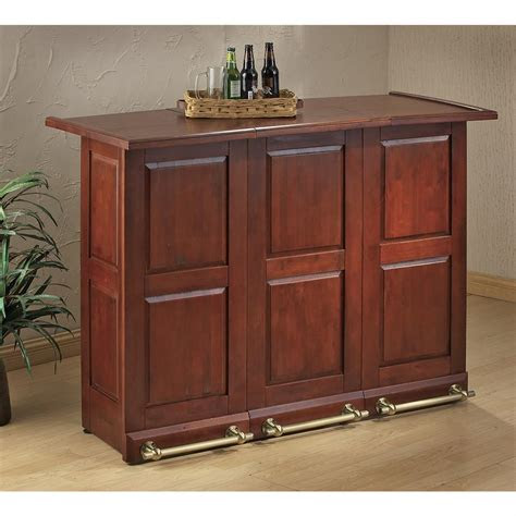 swing open portable bar  kitchen dining stools