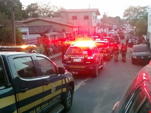 PRF apreende 68 veículos durante realizada no Maranhão (Foto: Ascom PRF / Divulgação)