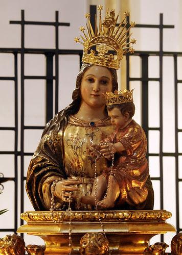 Virgen de la Peana de la Hermandad de la Virgen de la Peana de Zaragoza