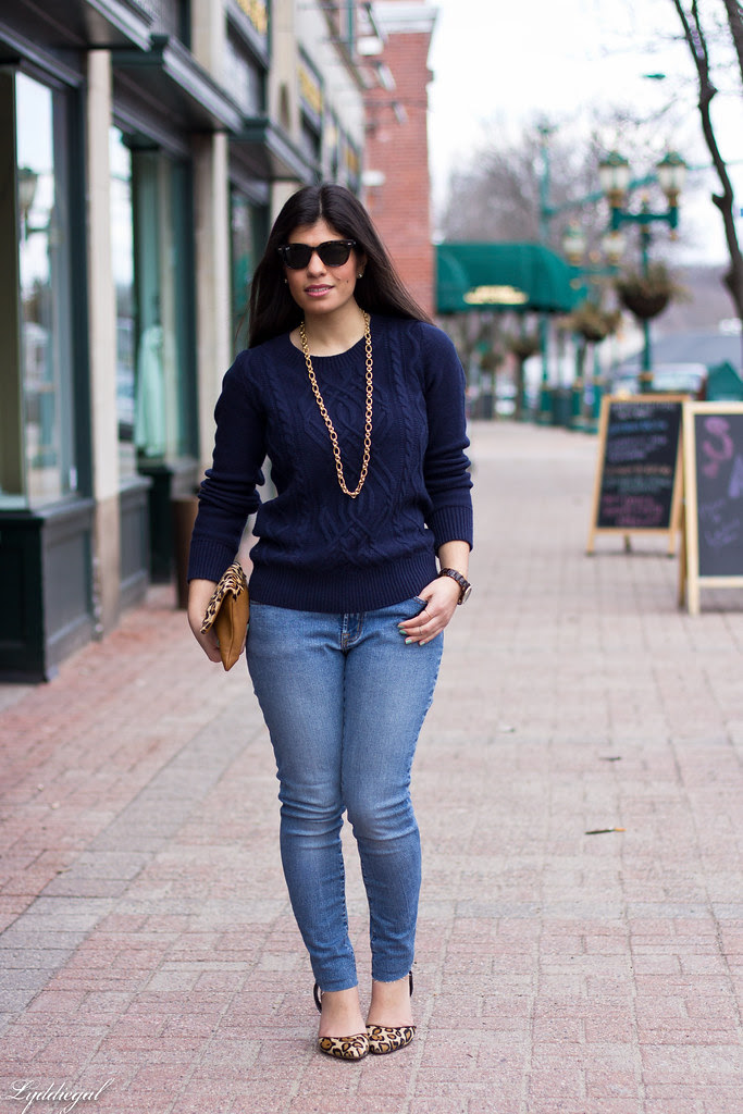 navy sweater, leopard heels, denim-1.jpg