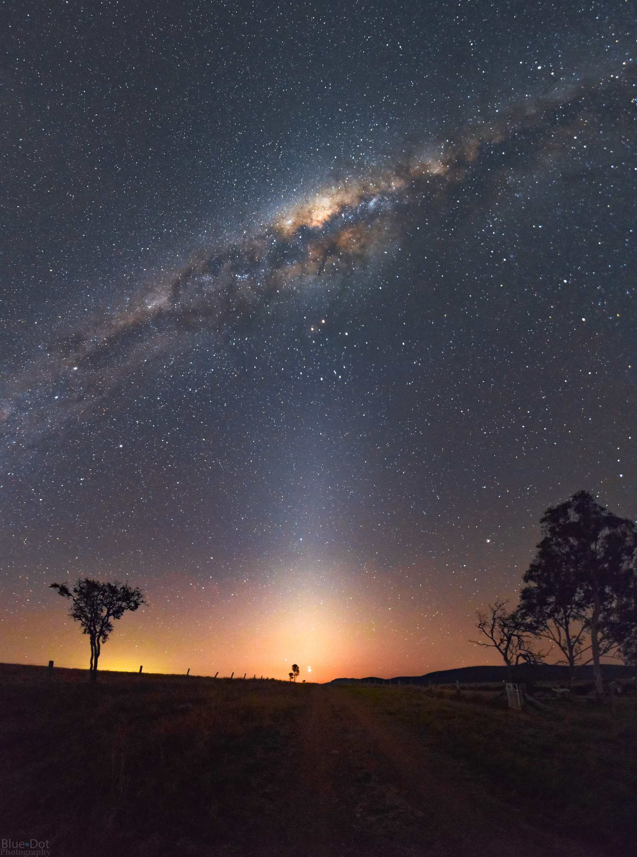 APOD: 2016 September 1 - Light at the End of the Road