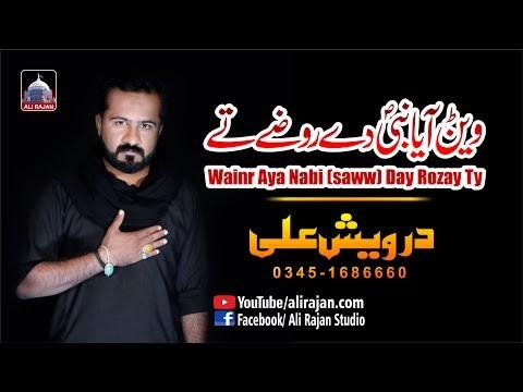 Wainr Aya Nabi De Rozay | Darwaish Ali | New Noha Ayam e Fatmiyah 2021