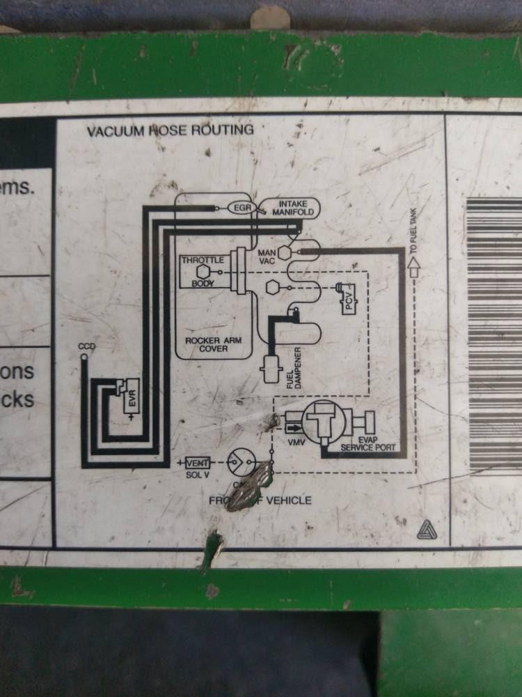 99 Ford Ranger Vacuum Diagram