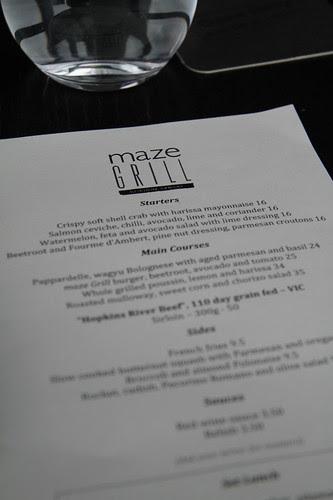 Maze Grill by Gordon Ramsay (Melbourne, Australia)