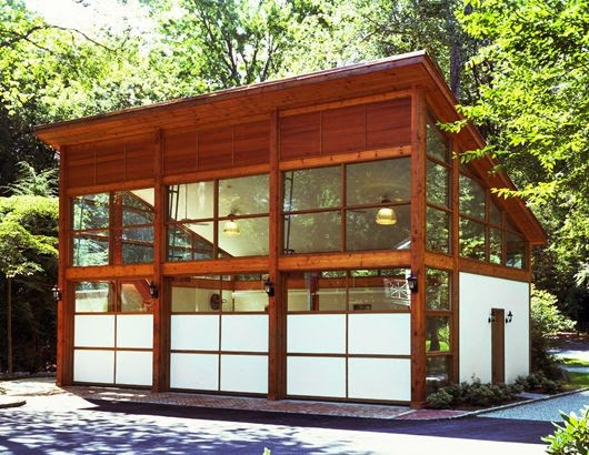 EISNER DESIGN - modern - garage and shed - new york - by Eisner ...