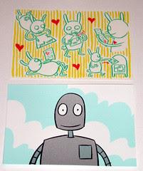 Sara Varon postcards