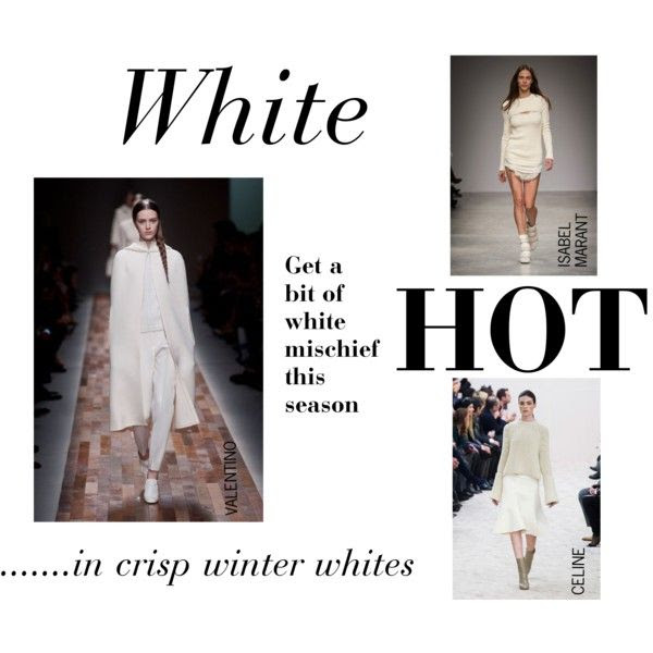 """WHITE HOT at NET-A-DRESSER"" by net-a-dresser on Polyvore"