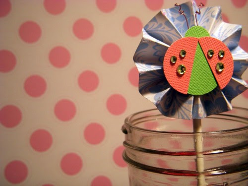 Ladybug Cupcake Topper 4