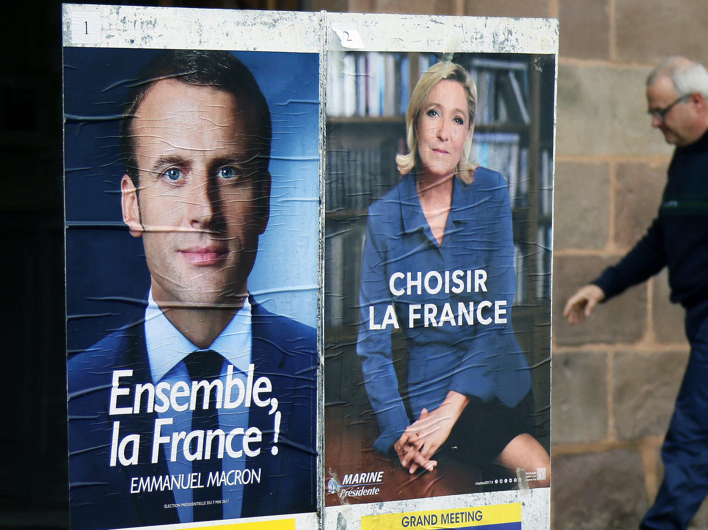Image result for emmanuel macron election