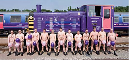 Drivers in the Buff photo by Peter Alvey