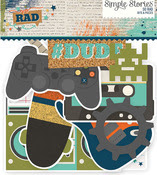 So Rad Bits & Pieces Die-Cuts - Simple Stories