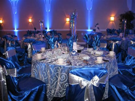 gorgeous navy  silver wedding ideas happywedd