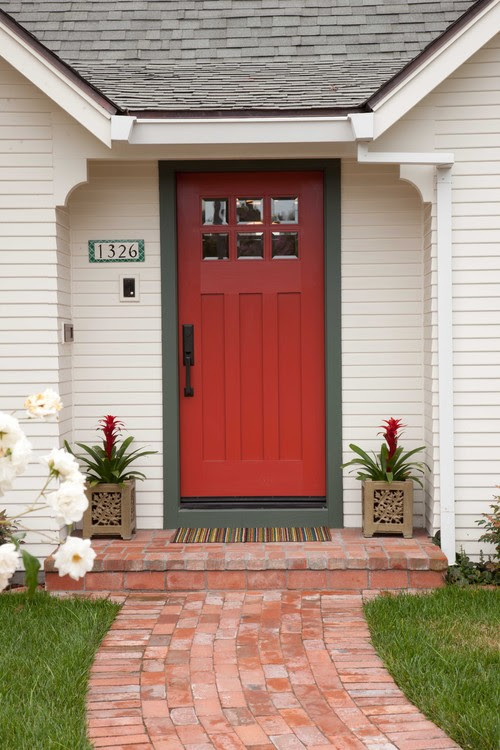 30 Front Door Colors With Tips For Choosing The Right One