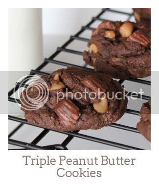 """Triple Peanut Butter Cookies"""""""