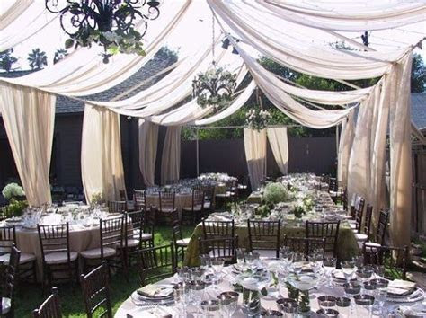 diy fabric wedding tent   Google Search   Wedding Inspired